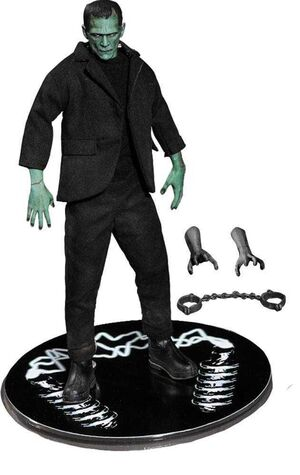 UNIVERSAL MONSTERS FIG 15 CM 1/12 FRANKENSTEIN COLOR PREVIEWS EXCL