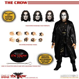 THE CROW THE ONE:12 COLLECTIVE FIGURA 17 CM THE CROW