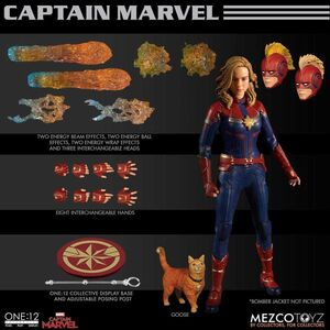 CAPITANA MARVEL FIG 16CM THE ONE:12 COLLECTIBLE