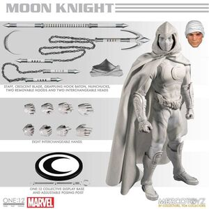 MOON KNIGHT FIGURA 17CM MARVEL THE ONE:12 COLLECTIVE