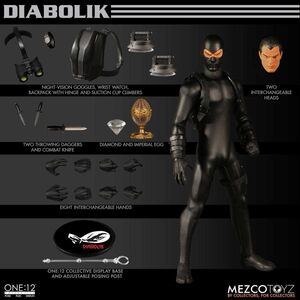 DIABOLIK FIGURA 17CM ONE:12 COLLECTIBLE ESC. 1/12