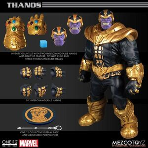 THANOS FIGURA 21CM MARVEL ONE:12