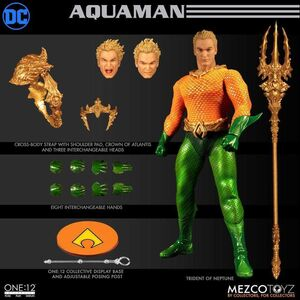 AQUAMAN FIGURA 17CM DC THE ONE:12 COLLECTIVE