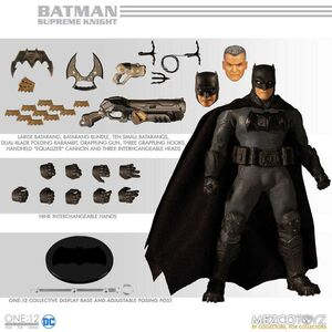 BATMAN SUPREME KNIGHT FIG 17CM DC THE ONE:12 COLLECTIVE