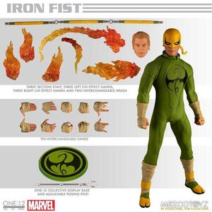 IRON FIST FIG 17CM MARVEL THE ONE:12 COLLECTIVE