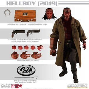 HELLBOY FIG 17CM HELLBOY 2019 THE ONE:12 COLLECTIVE