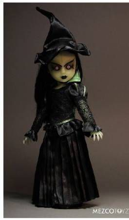 LIVING DEAD DOLLS MUÑECA 25 CM WICKED WITCH OF THE WEST IN OZ