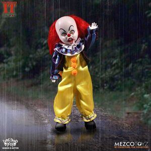 IT MUÑECO 25CM LIVING DEAD DOLLS PENNYWISE STEPHEN KING´S