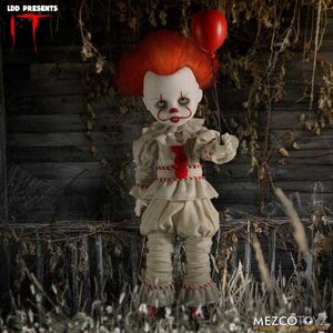 IT MUÑECO 25 CM LIVING DEAD DOLLS PENNYWISE STEPHEN KING´S