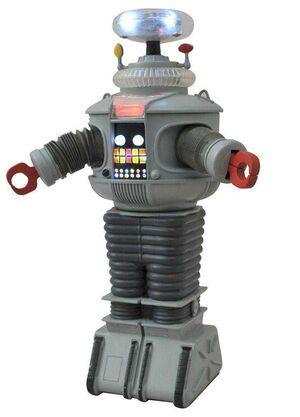 LOST IN SPACE FIGURA 25CM ROBOT B9 ELECTRONICO CON LUZ Y SONIDO