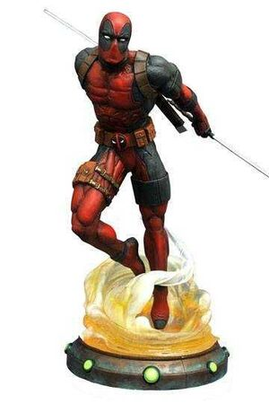 DEADPOOL ESTATUA 23 CM MARVEL GALLERY