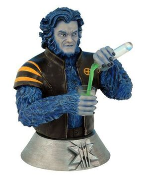 X-MEN 3 MOVIE BEAST BUSTO