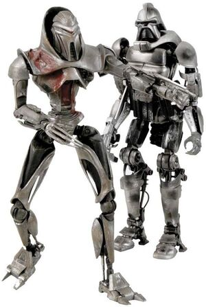 BATTLESTAR GALACTICA FIG 18CM DAYBREAK CYLON PACK DE 2