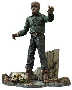 UNIVERSAL MONSTERS SELECT FIG 18CM THE WOLF MAN VERSION 2