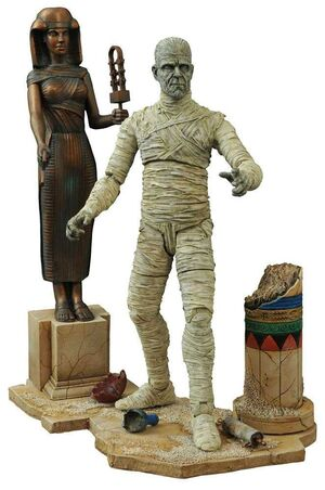 UNIVERSAL MONSTERS SELECT FIG 18CM THE MUMMY VERSION 2