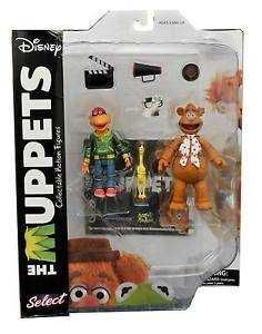 THE MUPPETS PACKS 2 FIGURAS 13 CM FOZZIE & SCOOTER SERIE 1