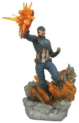 CAPITAN AMERICA CIVIL WAR ESTATUA 40 CM CAPITAN AMERICA MARVEL MILESTONES