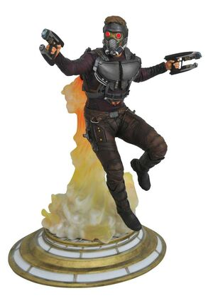 GUARDIANES DE LA GALAXIA 2 DIORAMA STAR-LORD MARVEL GALLERY