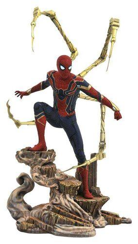 LOS VENGADORES INFINITY WAR DIORAMA PVC 23CM IRON SPIDER-MAN MARVEL GALLERY