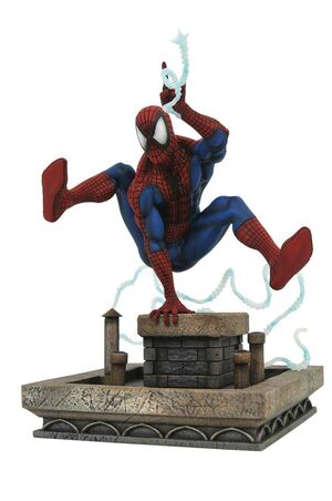 SPIDERMAN DE LOS 90 ESTATUA PVC 20CM MARVEL COMIC GALLERY