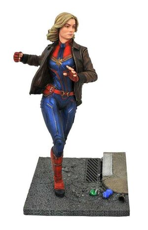 CAPITANA MARVEL ESTATUA 28 CM CAPITANA MARVEL MOVIE PREMIER COLLECTION
