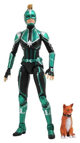 CAPITANA MARVEL FIGURA 18 CM CAPITANA MARVEL UNIFORME STARFORCE
