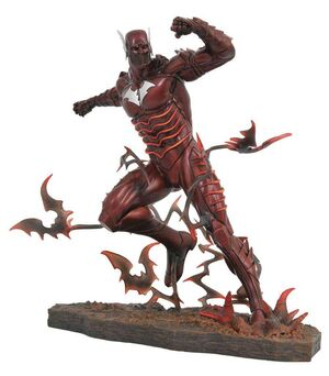 NOCHES OSCURAS: METAL FIGURA 25 CM RED DEATH DC GALLERY