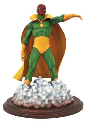 THE VISION ESTATUA RESINA 28 CM MARVEL COMIC PREMIER COLLECTION