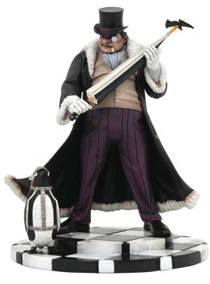 BATMAN ESTATUA PVC 23CM THE PENGUIN DC COMIC GALLERY