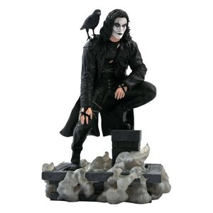 EL CUERVO MOVIE GALLERY ESTATUA PVC ROOFTOP 25 CM
