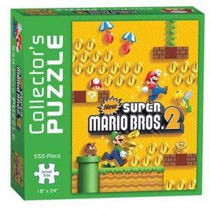 NEW SUPER MARIO BROSS 2 PUZZLE 46 X 61 CM