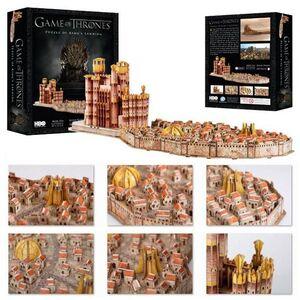 JUEGO DE TRONOS PUZLE 3D DESEMBARCO DEL REY 260 PIEZAS (KINGSLANDING)