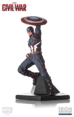 CAPITAN AMERICA CIVIL WAR ESTATUA 1/10 CAPITAN AMERICA 25 CM