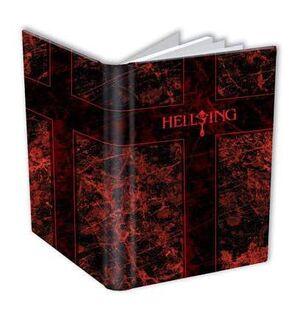 HELLSING ULTIMATE LIBRETA 14X22CM
