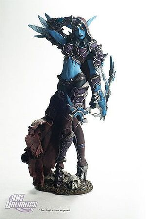 WORLD OF WARCRAFT SERIE 6 FIG 20CM - FORSAKEN QUEEN SYLVANAS WINDRUNNERRD