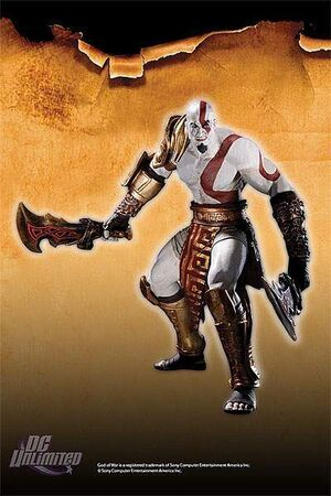 GOD OF WAR FIG 18CM SERIE 1 - KRATOS