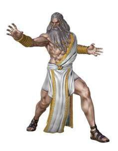 GOD OF WAR FIG 18CM SERIE 1 - ZEUS