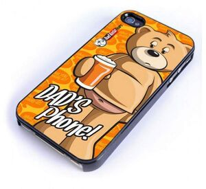 BAD TASTE BEARS FUNDA PARA IPHONE 4 DAD'S PHONE