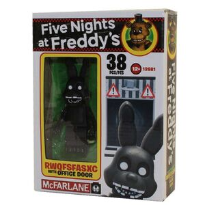 FIVE NIGHTS AT FREDDY´S MICRO KIT CONSTRUCCION RWQFSFASXC WITH OFFICE DOOR