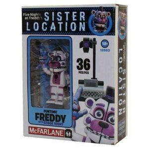 FIVE NIGHTS AT FREDDY´S MICRO KIT CONSTRUCCION FUNTIME FREDDY STATE RIGHT
