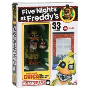 FIVE NIGHTS AT FREDDY´S MICRO KIT CONSTRUCCION CHICA WITH RIGHT HALL WINDOW