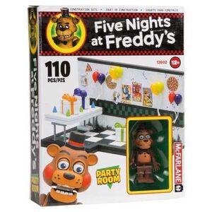 FIVE NIGHTS AT FREDDY´S SMALL KIT DE CONSTRUCCION PARTY ROOM