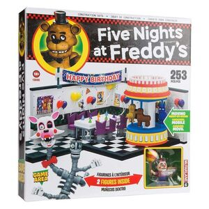 FIVE NIGHTS AT FREDDY´S LARGE KIT DE CONSTRUCCION GAME AREA