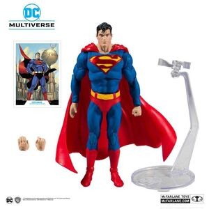 SUPERMAN ACTION COMICS 1000 FIGURA 18 CM SUPERMAN DC REBIRTH