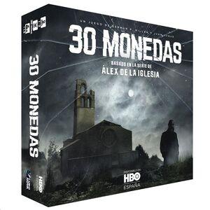 30 MONEDAS. EL JUEGO DE MESA