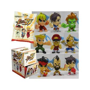 STREET FIGHTER LLAVERO 6 CM SURTIDO