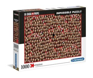 LA CASA DE PAPEL PUZZLE 1000 PIEZAS IMPOSSIBLE MASK