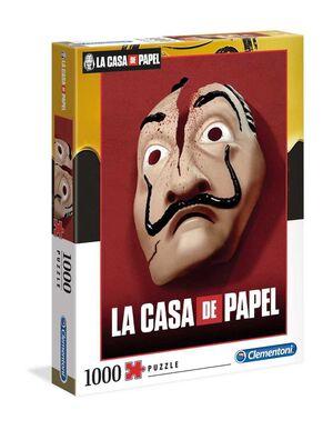 LA CASA DE PAPEL PUZZLE 1000 PIEZAS MASK