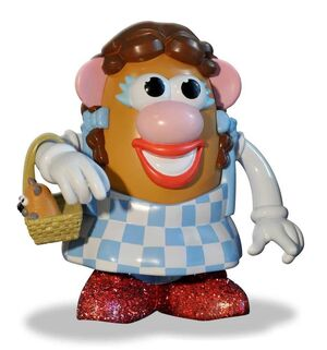 EL MAGO DE OZ FIGURA 15 CM DOROTHY MRS POTATO HEAD