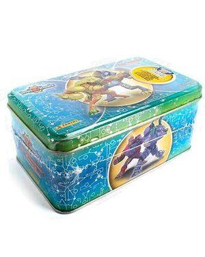 INVIZIMALS 3 TIN BOX SILVER BATALLA DE CAZADORES